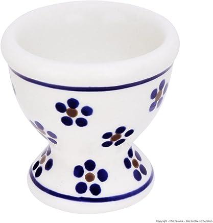 Preisvergleich für Original Bunzlauer Keramik Eierbecher hoch im Dekor 225