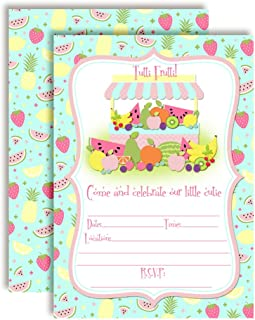 Best fruit party invitations Reviews