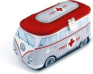 BRISA VW Collection - Volkswagen Samba Bus T1 Camper Van 3D Neoprene Universal Bag - Makeup, Travel, Cosmetic Bag (Neopren...