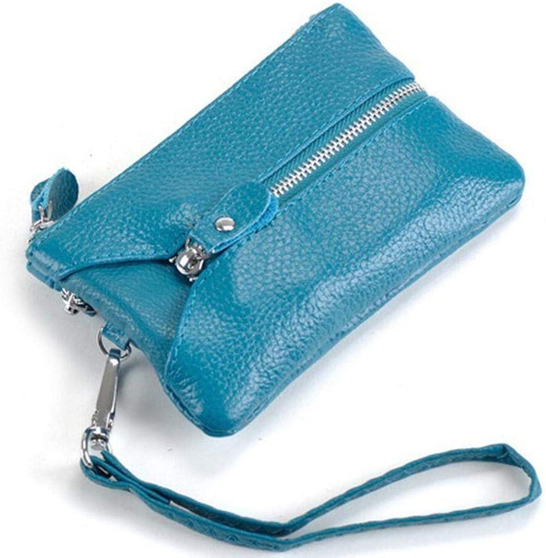 Girls Purse Women's Wallet Leather Lady Small Change Bag Key Bag (color   C)