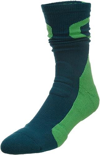 Chaussettes de basketball Dri-Fit Nike Jumphomme Crew-vert-Medium