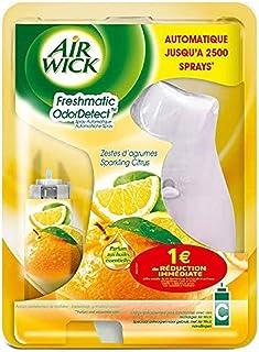 Air Wick luftrenare diffusor automatisk Freshmatic Compact Rosina DETECT citrusfrukter