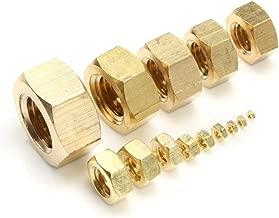 Nuts Solid Brass Hex Nuts Metric Thread 1-200pcs B6170-86 All Sizes M2/M2.5/M3/M4/M5/M6/M8/M10/M12/M14/M16/M18/M20/M24 Choose - (Ships from: China, Size: M14x2.0 2pcs)