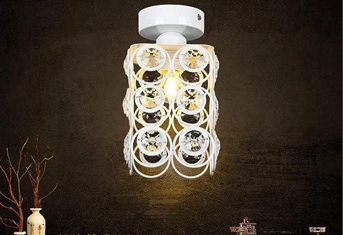 Plafonnier moderne Plafond éclairage maison éclairage salon couloir de cristal couloir lumières plafonniers 110V   220V E27