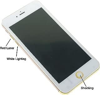 YOYOSTORE Fake Shocking Mobile Phone Shape Gadget Electric Joke Toy Fool Day Gift (Golden)