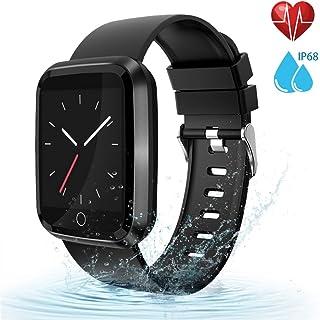 moreFit Fitness Tracker Smart Watch, IP68 Waterproof...