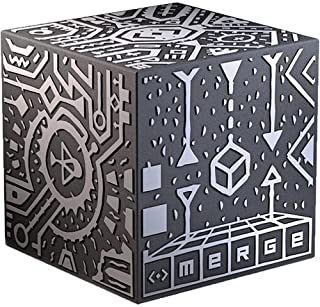 (Pack of 1) - Merge Cube - Hold Holograms in Your Hand with Award Winning AR Toy for Kids - iOS or Android Phone or Tablet Brings the Cube to Life, Free Games With Every Purchase, Works with Merge VR/AR Goggles