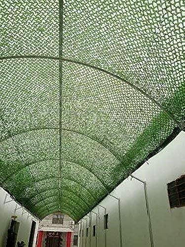 Qjifangzyp Auvent de terrasse Filet de Camouflage de Filet Adapté Aux Activités des Enfants de La Cour Verts de Plusieurs Tailles Filet de Camouflage Filet de Prougeection Solaire (Taille   6  8M)
