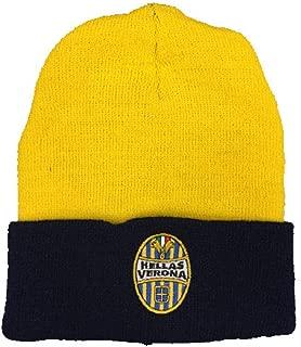 BrolloGroup Sciarpa Stadio Hellas Verona in Jacquard Giallo Blu PS 33041