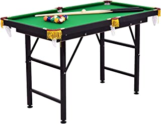 Costzon Billiard Table, Pool Game Table Includes Cues, Ball, Chalk, Rack, Brush for Kids