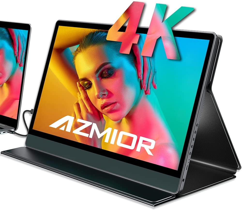 AZMIOR UHD 4K Portable Monitor