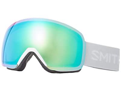 Smith Optics Skyline Goggle (White Vapor/Chromapop Everyday Green Mirror) Snow Goggles