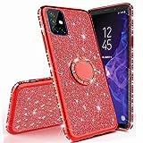 Miagon Custodia per Samsung Galaxy S20 Plus,Brillante Scintillare Diamante Telaio Luccichio 360 Grado Sopportare Donna Ragazza TPU Silicone Protettiva Cover