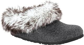 Birkenstock Womens Kaprun Faux Fur Clog
