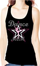 Dance Mom Rhinestone Bling Womens Tank Top Tee Shirt