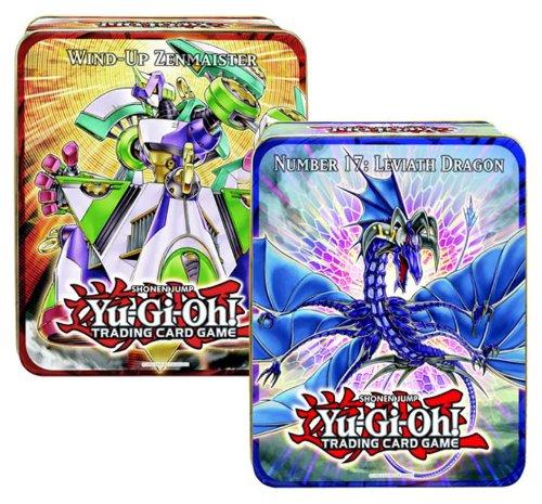 YGO Yu-Gi-Oh! Tin 2011 - Leviathan-Drache und Aufzieh-Zenmeister DEUTSCH