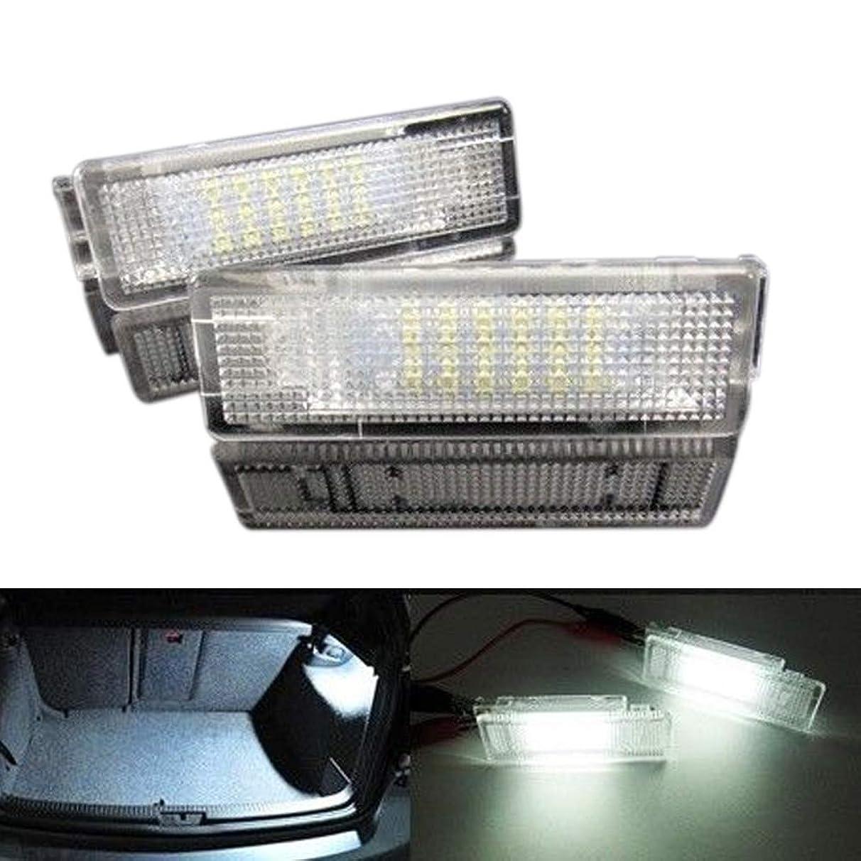 AjaxStore - New 2 Pcs/Set Car LED Luggage Trunk Interior Light for VW Eos Golf GTI Jetta Passat Tiguan Touareg