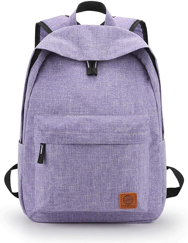 FERZA Home Einfacher beiläufiger Frauen-Rucksack-Mädchen-Schulrucksack-Rucksack (Farbe (Farbe (Farbe  Blau) B07MNQSK9Q  Zart 9a2501