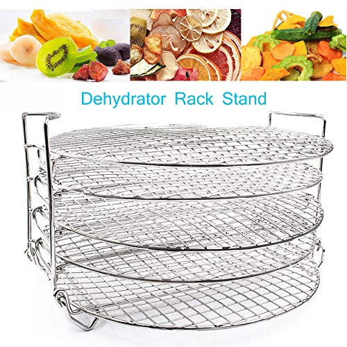 Buy Discount Reyhoar Dehydrator Rack Stand Compatible with Ninja Foodi Pressure Cooker Air Fryer 6.5...