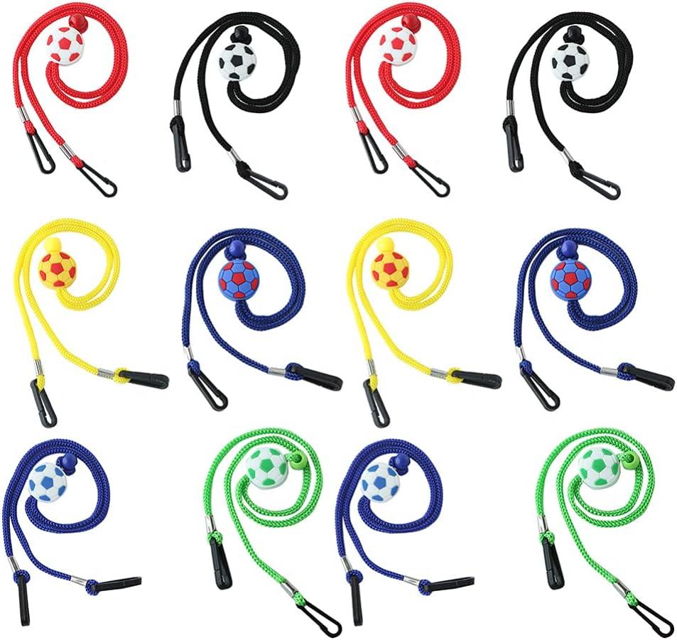iplusmile 12pcs Sports Glasses Chain Eyeglasses Holder Straps Cord Adjustable Eyewear Retainers Anti- Slip Reading Glasses Chain Necklace Rope for Men Women Kids