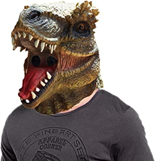 Dinosaur mask Latex Animal Head mask Halloween Party Costume