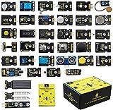 KEYESTUDIO 37-en-1 Kit de Módulos de Sensores con Tutorial Compatible con Arduino R3 Mega 2560 Nano V2.0