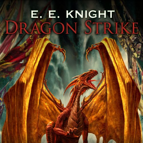 Dragon Strike audiobook cover art