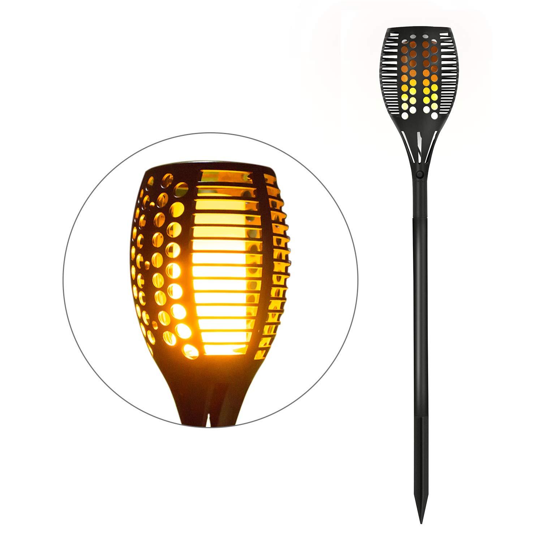 Openuye Lamparas Solares para Jardin 96 LED Luz Solar Jardin Decoracion, Lámpara Solar con IP65 Impermeables y Realistas Llamas: Amazon.es: Iluminación