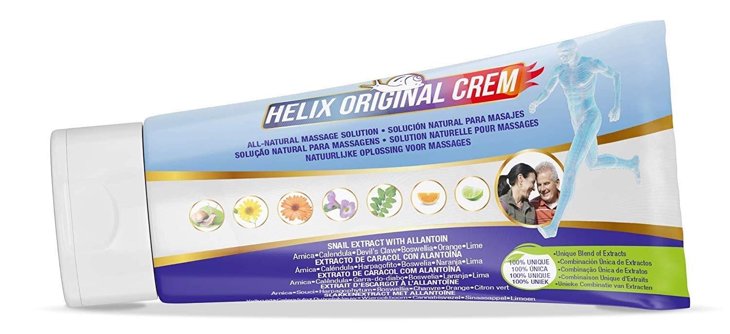 Helix Original Cream for Men and Women – Joint Pain Relief – Uses The Natural Protein of Crete Snail – Made with Turmeric, Glucosamine, Chondroitin, and Boswellia Serrata
