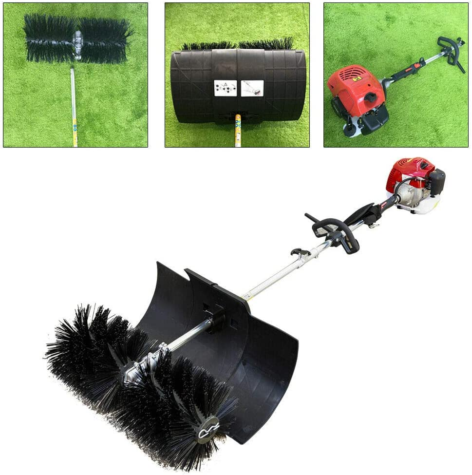 WINUS Now free shipping Handheld Sweeper 52cc 43cc Brush Nylon New arrival Sweeping Power Gas