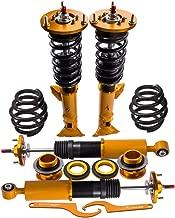 Adjustable Coilovers Shock Suspension for BMW E36 (1992-1999) 318i 318is 318ic 323i 323ic 323is 325is 325ic 328i 328is 328ic M3 - Golden