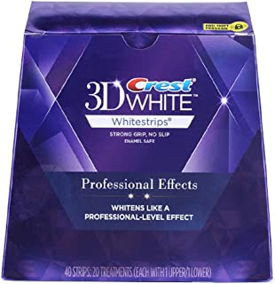 Crest 3D White Whitestrips - Professional Effects with Advanced Seal Whitening Treatment