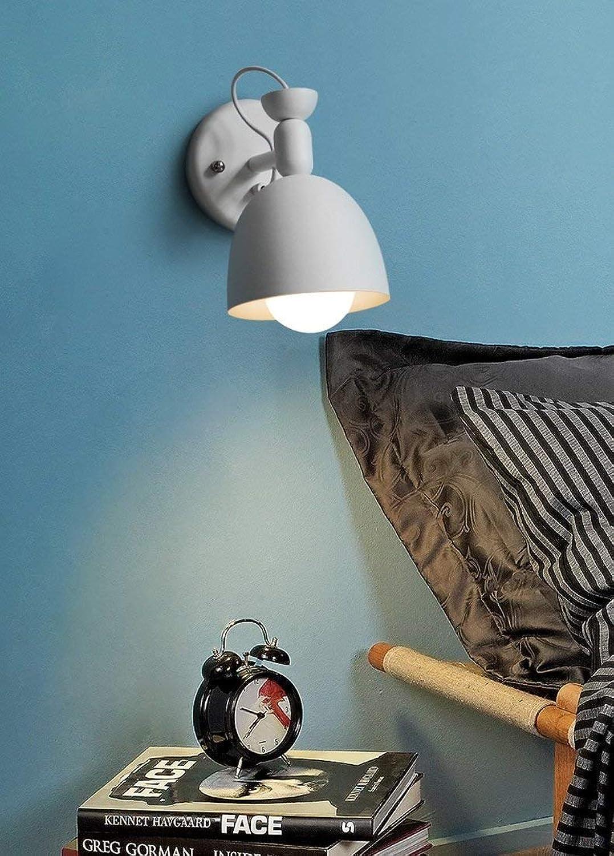 Nordic minimalistische moderne Wandleuchten, kreative Studie, Wohnzimmer, Schlafzimmer, Gang Wandleuchte Innenwandleuchte (Farbe   Weiß)