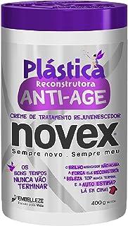 Creme de Tratamento Plástica Antiage 400 g, Novex