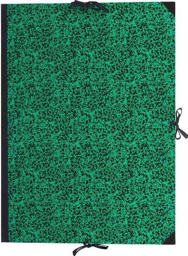 Lefranc Bourgeois Cartella Porta Disegni 120 X 80 Verde - Chiusura Con Cordoni