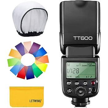 【技適マーク付き】GODOX Thinklite TT600 フラッシュ スピードライト ストロボ 内蔵2.4G ワイヤレストリガ・システム 1/8000S高速シンクロ Canon, Nikon, Pentax, Olympus DSLR カメラ対応