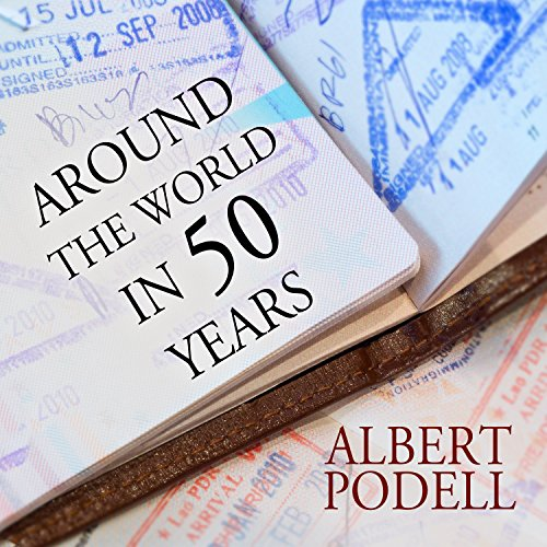 Around the World in 50 Years audiobook cover art