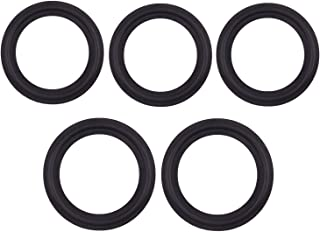 Viton Rubber Gasket Tri-clamp O-Ring Fits to Sanitary Tri-Clover Type Ferrule- 1.5 Inch (Pack of 5)