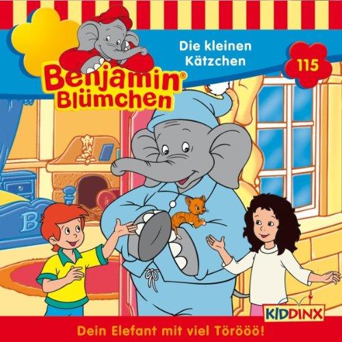Die kleinen Kätzchen audiobook cover art