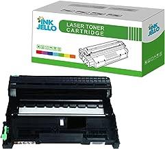 InkJello Compatible Tambor Unidad Reemplazo Por Brother DCP-7055 7055W 7060D 7065DN 7070DW Fax-2840 2940 HL-2130 2132 2135W 2240 2240D 2250DN 2270DW MFC-7360N 7460DN 7460N 7860DW DR2200 (Soltero-Pack)