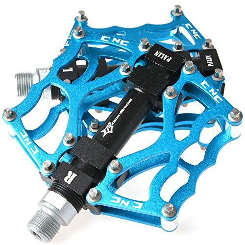 RockBros Pedales de bicicleta Ciclismo Sellado Rodamiento Pedales (Azul)