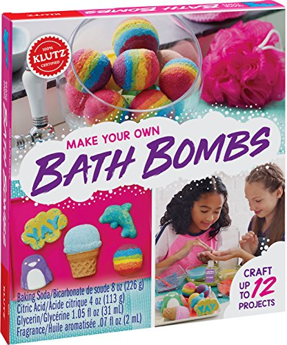 Klutz Make Your Own Bath Bombs Craft & Activity Kit JungleDealsBlog.com