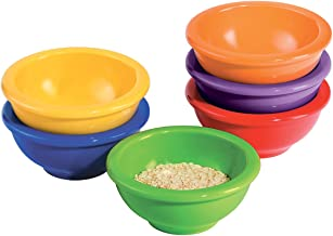 Oggi Melamine 6-Piece Pinch Bowl Set, Assorted Colors