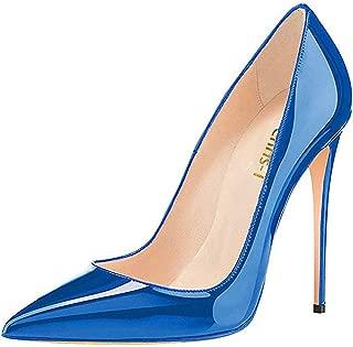 Spun Sugar Womens High Heels,12cm Pointed Toe Slip On...