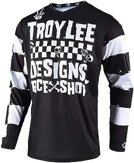 Troy Lee Designs Off Road Motocross GP Race Shop 5000 Jersey (Black, Small)