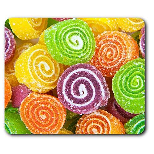 Comfortabele Muismat - Kleurrijke snoepjes Snoepvoeding Suiker voor Computer & Laptop, Kantoor, Geschenk, Antislipbasis