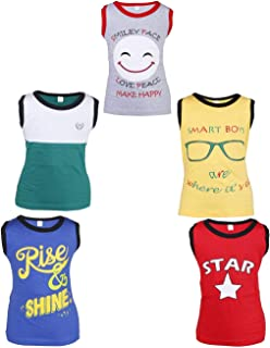 Goodway Pack of 5 Attitude Themed Sleeveless Tshirt