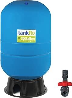 30 Gallon RO Expansion Tank – Large Reverse Osmosis Water Storage Pressure Tank by tankRO – with FREE Tank Ball Valve