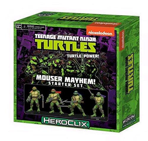 TMNT HeroClix: Set 1 Starter Mouser Mayhem