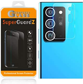 [3-Pack] for Rear Camera Lens of Samsung Galaxy Note 20 Ultra Screen Protector Tempered Glass, SuperGuardZ, 9H, 0.3mm, Ant...